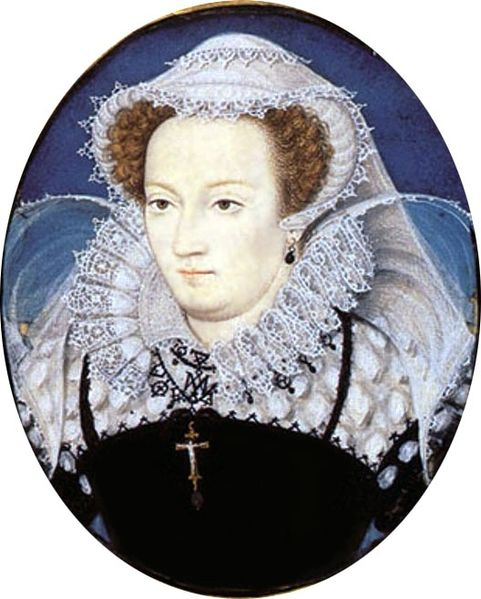 Mary Queen of Scots by Nicholas Hilliard 1578