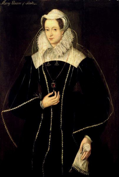 Mary, Queen of Scots in Captivity, Painting English School, 1575