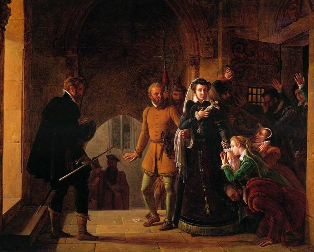 Mary Queen Of Scots Imprisonment February 8 - Mary Quee...