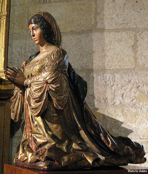 Statue of Isabella I of Castile by Bigarny