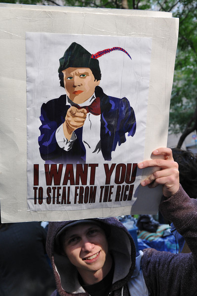 Occupy Wall Street September 15, 2011.