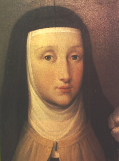 Portrait of St. Teresa Margaret of the Sacred Heart O.C.D. painted after her death by Anna Piattoli.