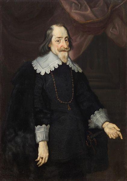 Maximilian I, painting by Joachim von Sandrart