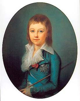 Portrait of the Dauphin by Alexander Kucharsky