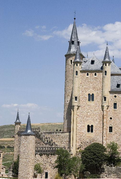 Towers of Segovia Castle