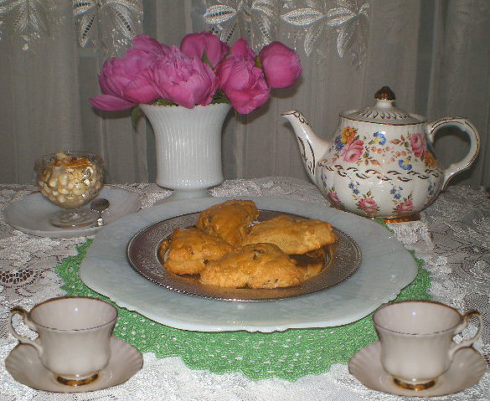 Queen Elizabeth II tea scones