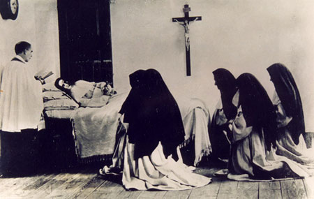 Death of Sister Mary of the Divine Heart