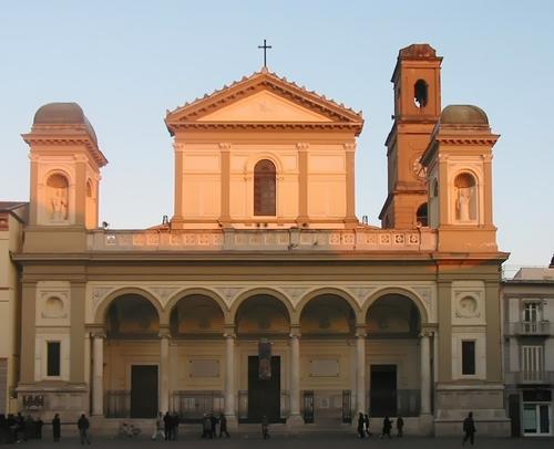 (Cathedral of Nola) Nola Duomo Church in Nola, Italy.
