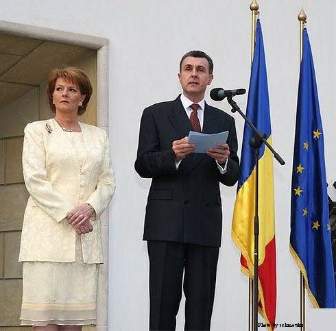 Princess Margarita of Romania and her husband, Prince Radu Duda.