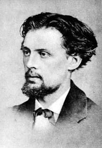 St. Adam Chmielowski when he was a painter.