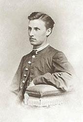 Student photo of St. Adam in 1865.