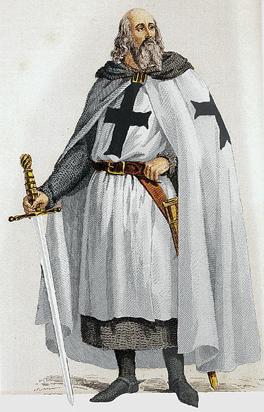 Jacques de Molay was the 23rd and last Grand Master of the Knights Templar.