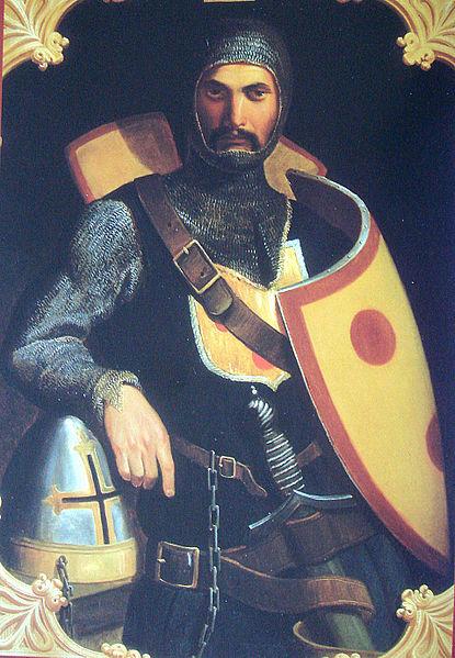 Baldwin II of Bourcq, count of Edessa and king of Jerusalem.