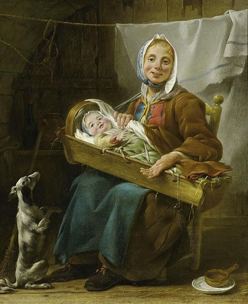Painting by Noël Hallé