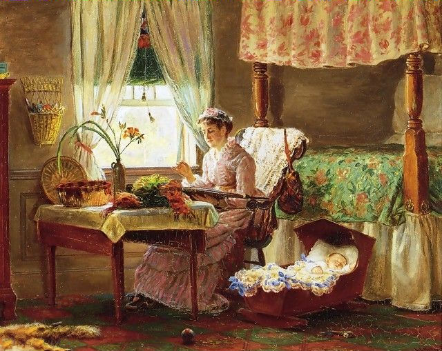 Painting by Edward Lamson Henry