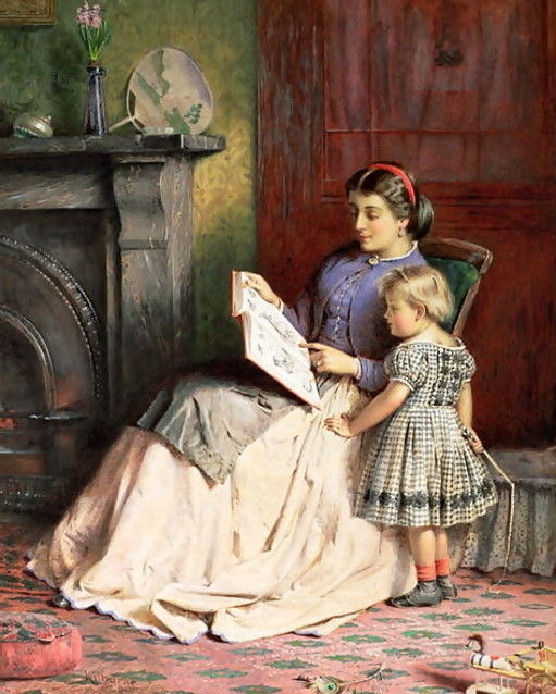 Painting by George Goodwin Kilburne