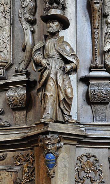 Statue of St. Cajetan in Germany at the Parish Church of Saint Magnus.