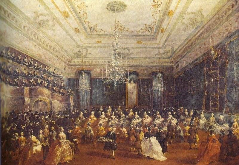 The Venetian Gala Concert by Francesco Guardi