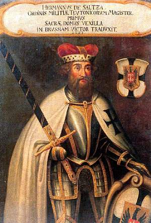 Herman von Salza, Grand Master of the Teutonic Order.
