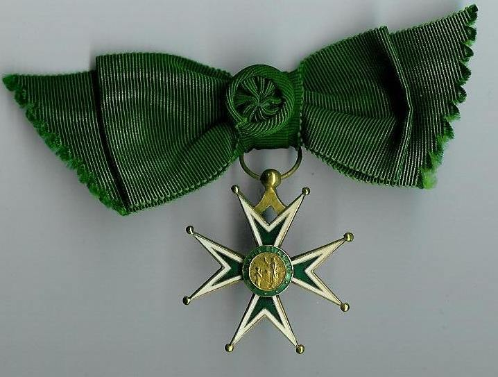 Medal of the Order of St. Lazarus, Ladies' Cross