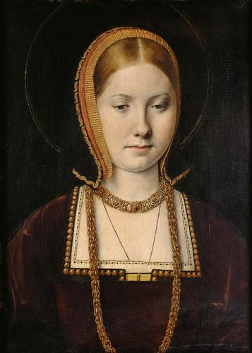 Painting of Catherine of Aragon by Michael Sittow