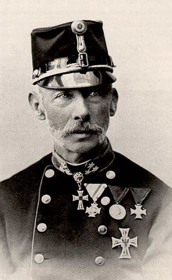 Archduke Wilhelm Franz Karl of Austria-Toscana, 1827-1894, youngest Son of Archduke Karl (Charles) of Austria, Duke of Teschen, Grand Master of the Teutonic Order 1863-1894, FZM in the imperial-royal artillery