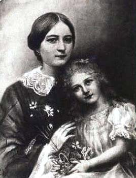 The Saint with her Mother.