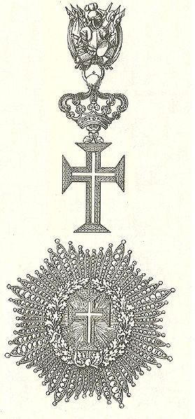 Cross and star of the Order of Christ (Holy See)