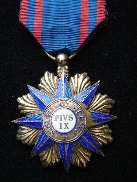 Knight's cross of the Order of Pius IX