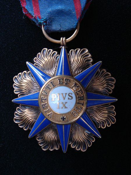 A Commander's Medal of the Order of Pius IX.