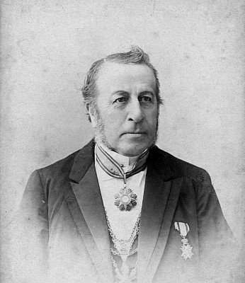 Adrianus Petrus Wilhelmus (Willem) Mutsaers, a Catholic Dutch Burgemeester, pictured here with the medal of the Order of Pius IX.