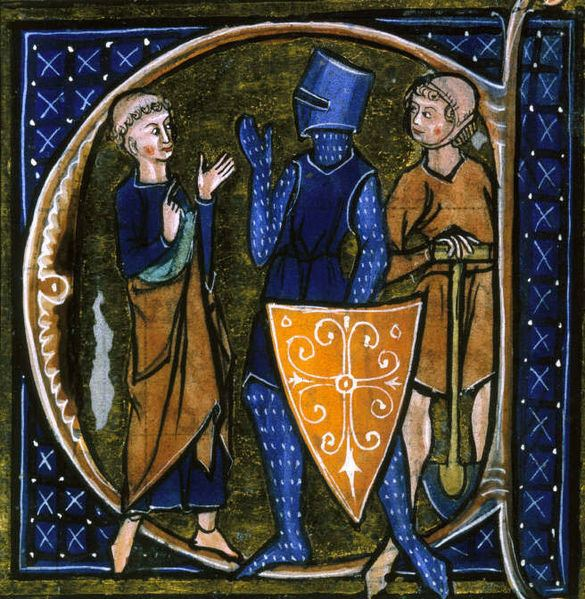 """Representation of the tripartite soial order of the middle ages. oratores :""""Those who pray"""", bellatores """"those who fight"""", and laboratores """"those who work""""."""