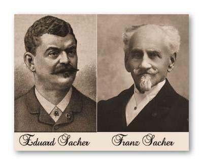 Eduard Sacher, son of Franz Sacher, the creator of Sacher Torte.