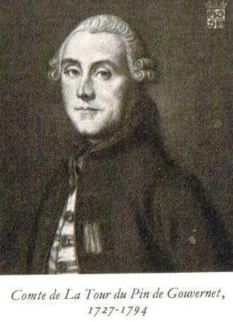 Comte de Paulin, Jean-Frédéric de La Tour du Pin Gouvernet