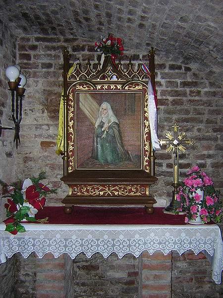 Cell of St. Dorothea of Montau in Kwidzyn. Photo by Marcin N