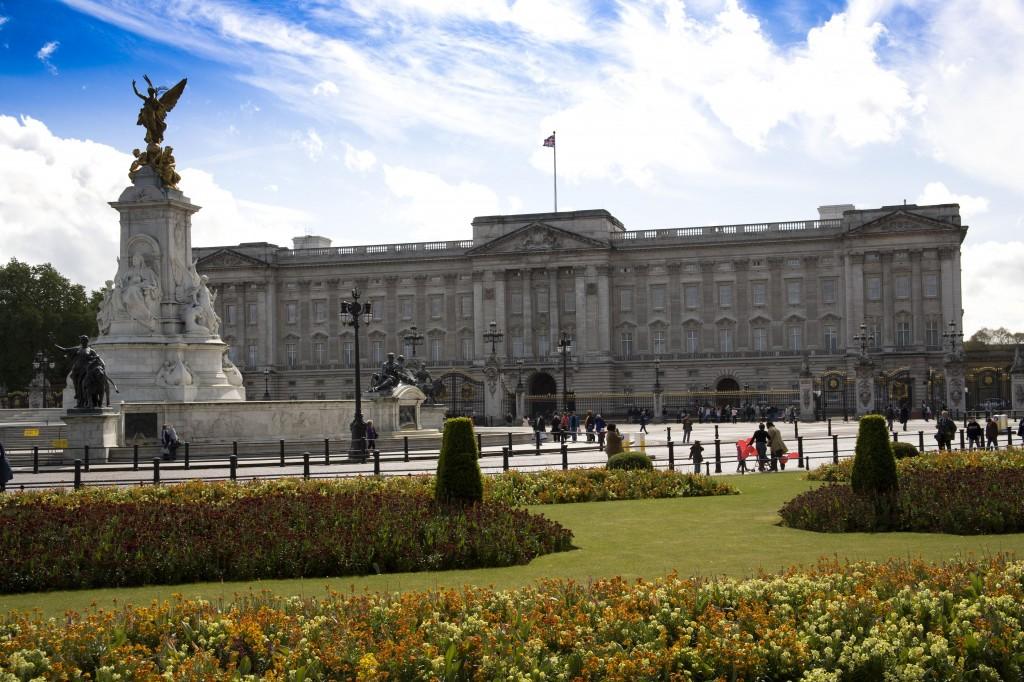 Buckingham Palace. May 2007. Photo by AlanEisen