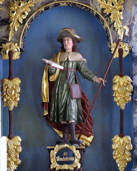 Statue of St. Wendelin