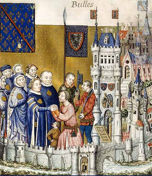 Homage of the Earldom of Clermont-en-Beauvais
