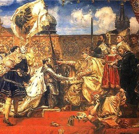 The Prussian Homage by Jan Matejko