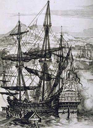 A Spanish Galleon