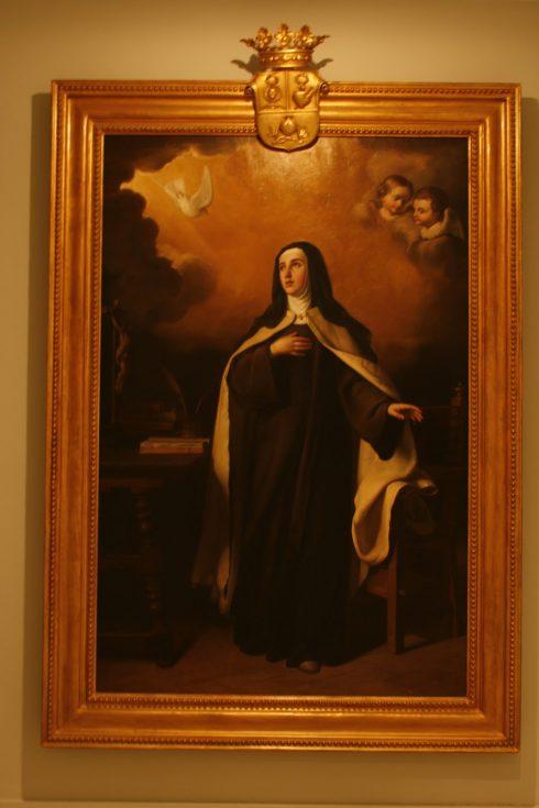 St. Teresa of Avila painted by Manuel Gómez-Moreno González