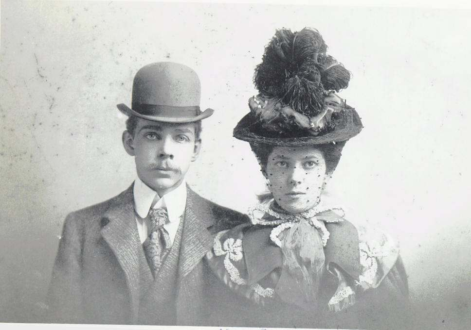 Théodore Boal and his wife Mathilde Denis de Lagarde