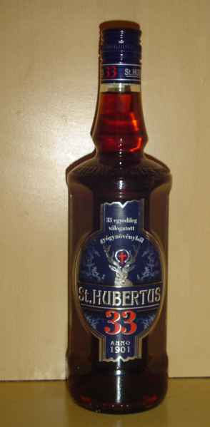 St. Hubertus 33 liqueur. Photo by Andrew69