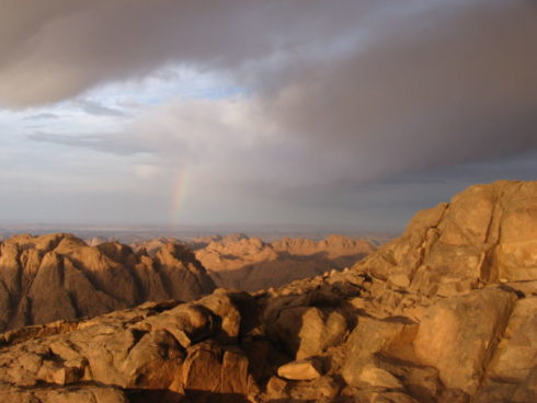 Mount Sinai in the Sinai Peninsula.