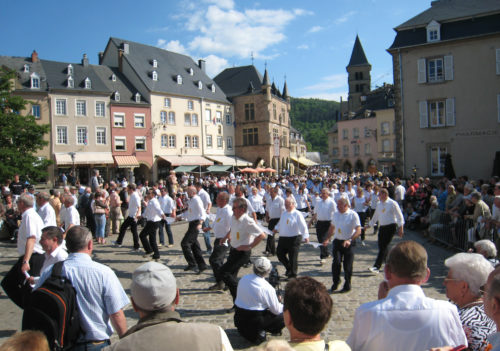 The Dancing Procession of Echternach. Photo by David Edgar