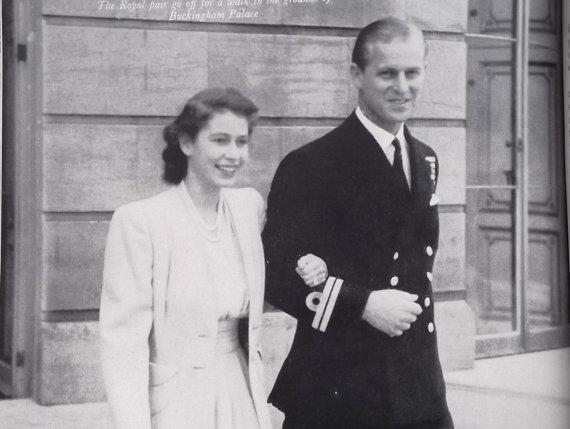 HRH Princess Elizabeth and Prince Philip