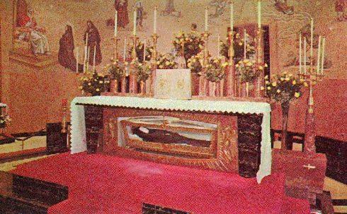 Mother Cabrini High School Chapel, where St. Frances Xavier Cabrini lies.