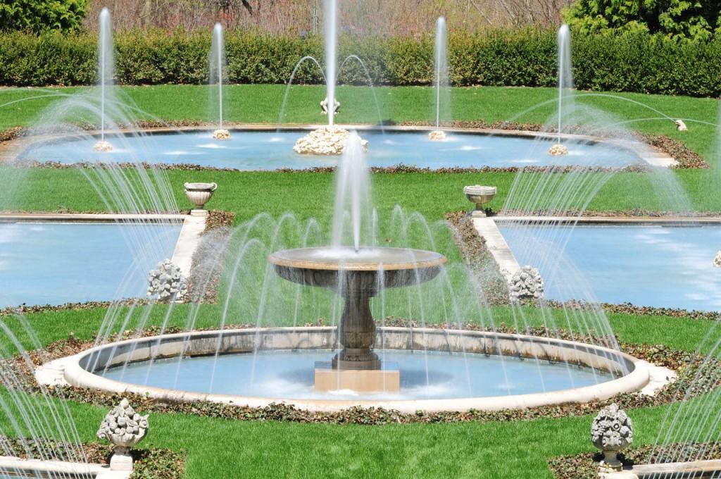 Longwood Gardens fountain