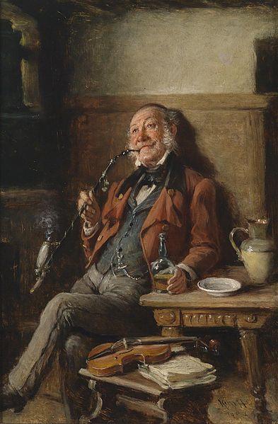 The burgomaster, Painting by Hermann Kern