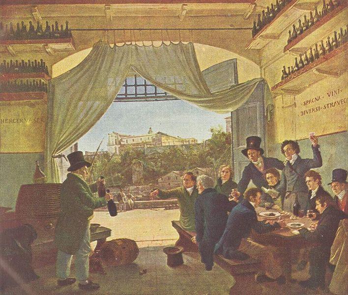 Painting by Peter von Cornelius